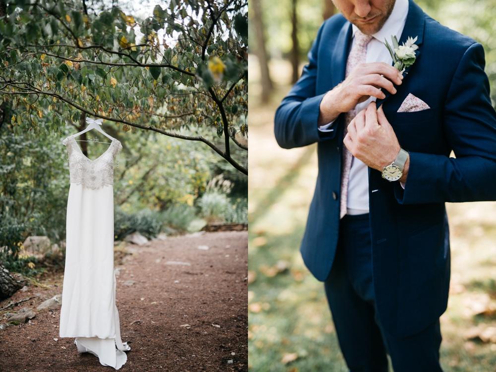 four fillies lodge wedding