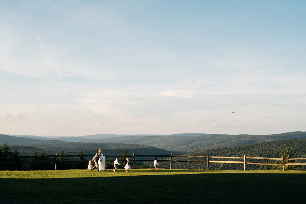 wv wedding at snowshoe resort