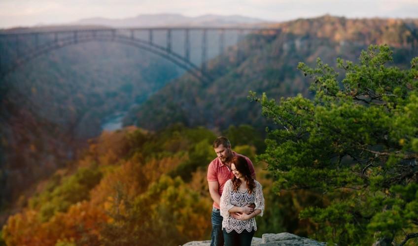 New River Gorge WV Engagement