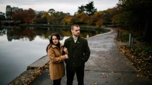 engagement photo washington dc