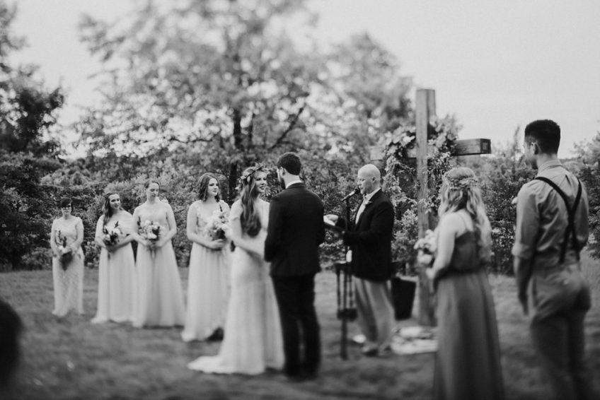 A Backyard Wedding in Morgantown