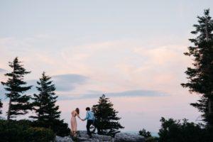 adventure wedding photo