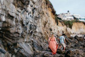 engagement photography on laguna beach