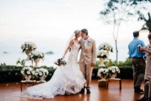 hotel la mariposa wedding ceremony photo