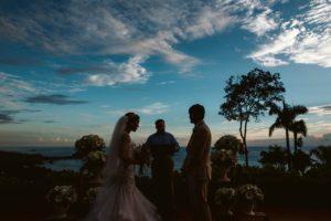 wedding photo at hotel la mariposa costa rica