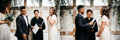 wedding ceremony withinsodo seattle washington