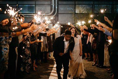 withinsodo wedding exit photo