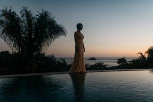 wedding photos at casa fantastica in costa rica
