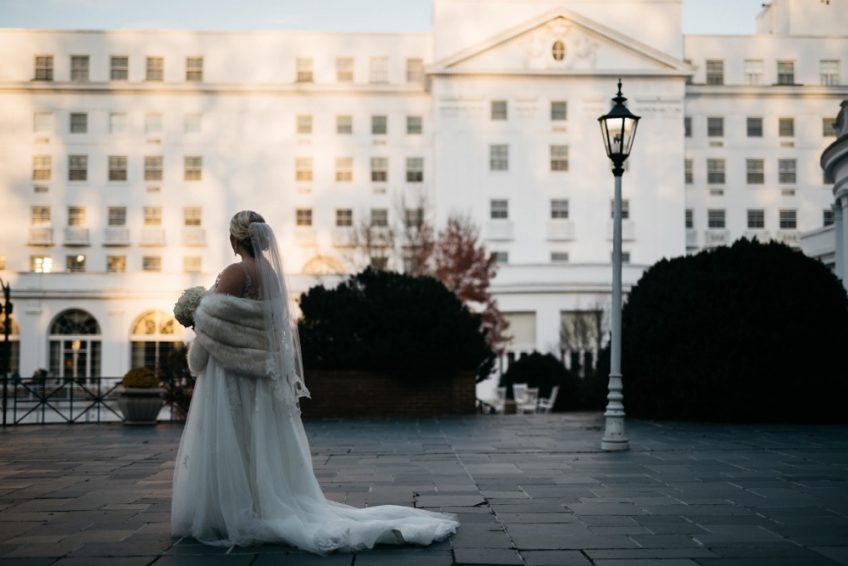 Fall Elopement at the Greenbrier